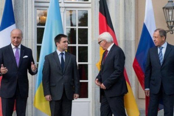 В Берлине сегодня состоится встреча в «нормандском формате»