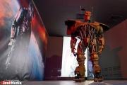 В Екатеринбург привезли роботов, которые прославились в голливудских блокбастерах