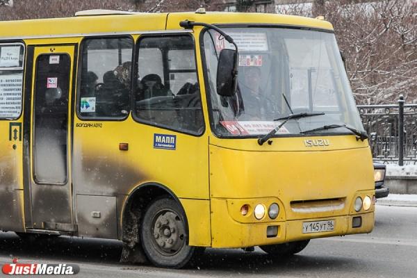 В Екатеринбурге маршрутка сбила женщину с двухлетним ребенком