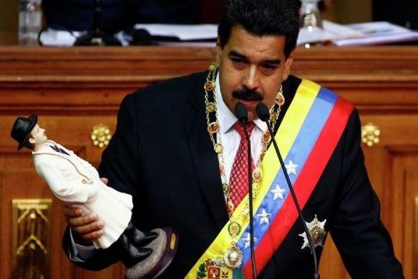 Президент Венесуэлы Мадуро запросил у парламента особых полномочий для противостояния США