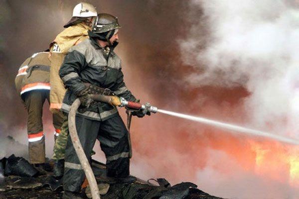 В Казани сгорел ТЦ