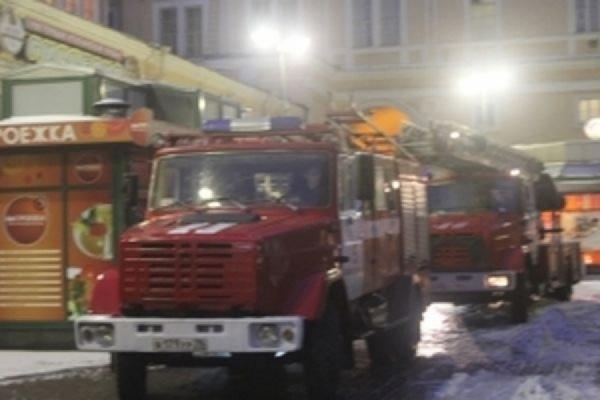 Пожар на колокольне Новодевичьего монастыря потушен ВИДЕО
