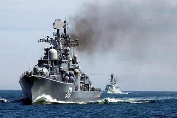 Более 20 кораблей Балтийского флота вышли в море на учения