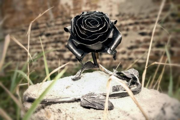 Легендарную розу уральского кузнеца, выкованную для певицы Селены Гомес, теперь можно купить за три тысячи рублей
