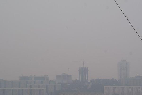 В некоторых районах Москвы втрое превышено содержание сероводорода в воздухе