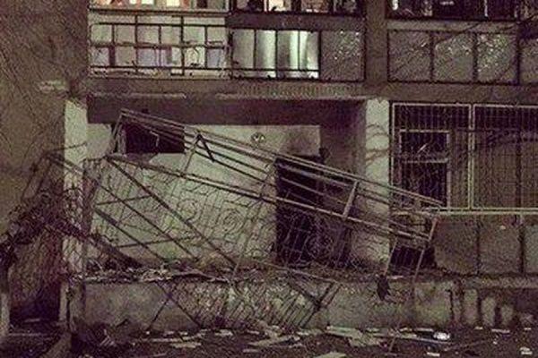 В Одессе произошел взрыв на первом этаже девятиэтажного дома