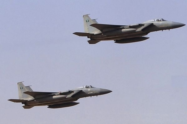 ВВС Саудовской Аравии нанесли удары по позициям шиитских повстанцев в Йемене