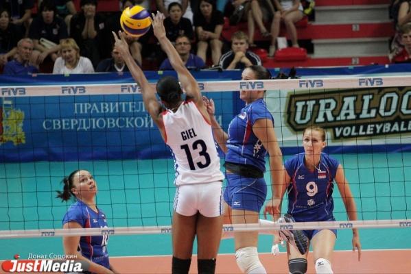 Уралочка-НТМК сделала первый шаг к финалу престижного европейского турнира