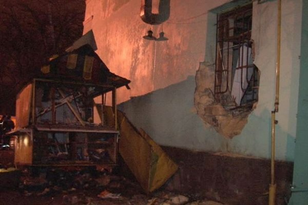 Ночной взрыв возле волонтерского центра в Одессе квалифицировали как теракт