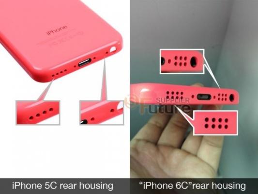 В Интернете появились фотографии iPhone 6c ФОТО