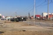Никаких шуток! Во время репетиции на Новосибирской второй танк снова снес столб. ФОТО