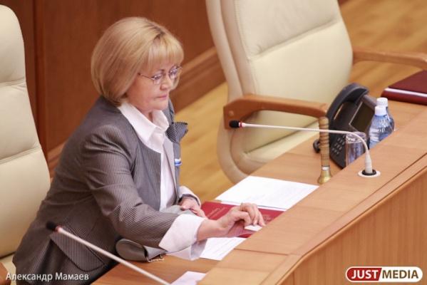 Бабушкина отказалась рассматривать законопроекты Артюха и Альшевских