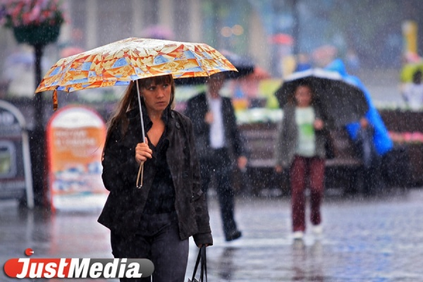 Почти всю неделю в Екатеринбурге будут лить дожди. Днем — до плюс 13