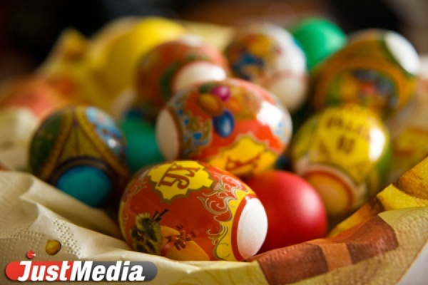 К Пасхе в Екатеринбурге  начнут продавать гигантские яйца