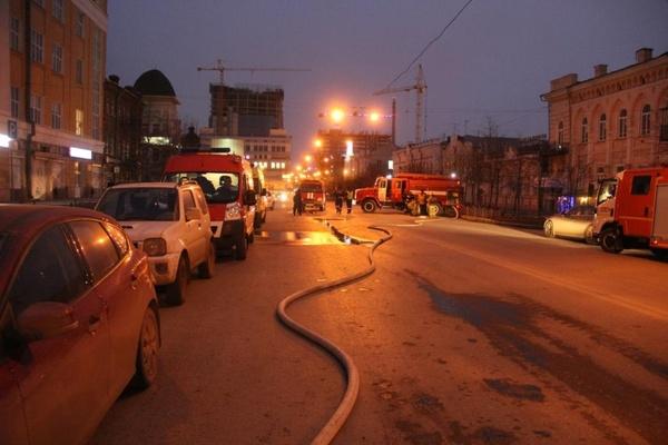 В Екатеринбурге горит арт-галерея «Свитер»