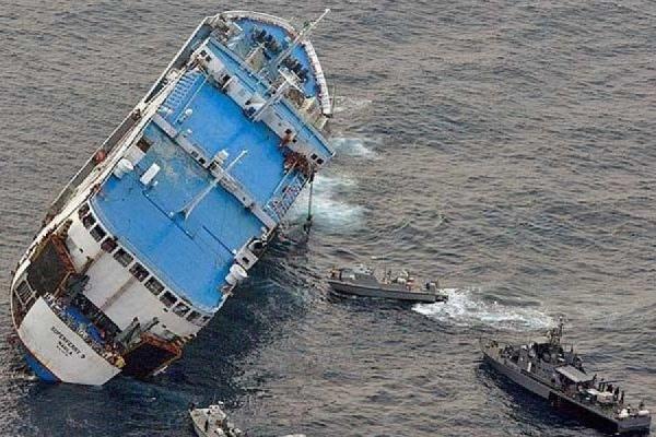 Пятеро пропавших без вести во время крушения траулера в Охотском море моряков признаны погибшими