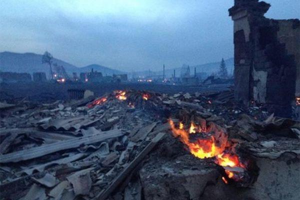 В МЧС заявляют о ликвидации пожаров в Хакасии