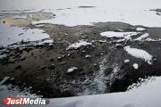 В Байкаловском районе паводковые воды затопили два моста