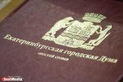 Прецедент в ЕГД. Депутаты отказались вручать грамоты подчиненным Новикова