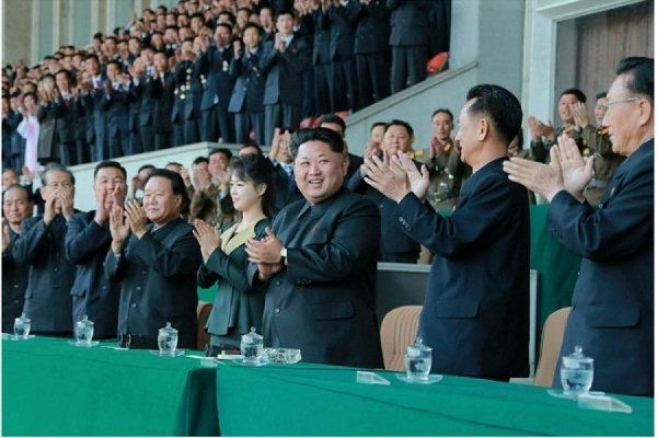 Супруга Ким Чен Ына появилась на публике