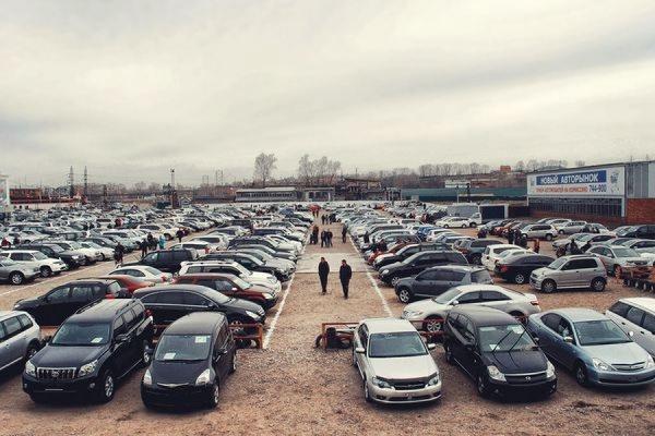 Россиянам могут запретить продавать подержанные автомобили с рук