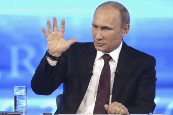 Сегодня в полдень Путин начнет прямое общение с россиянами