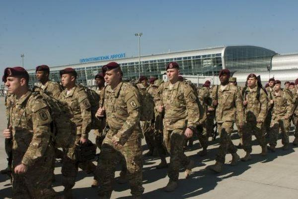 На Украину для обучения военных прибыли американские десантники