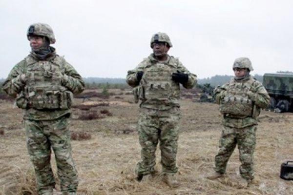 Военные учения с участием американских десантников начинаются в Эстонии