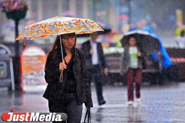 Всю неделю в Екатеринбурге будут идти дожди