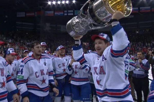 Петербургский СКА впервые в своей истории стал обладателем Кубка Гагарина
