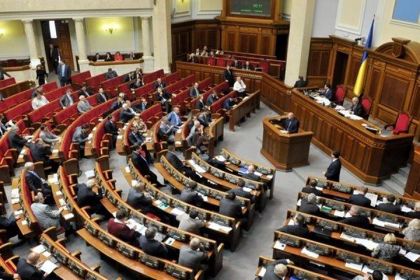 Верховная Рада Украины приняла документ «Об отпоре вооруженной агрессии РФ»