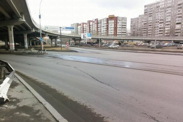 Залатать дыры на Бебелевском мосту планируют к концу мая
