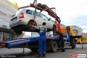 Водители эвакуаторов устроят фотосессии автомобилей-нарушителей