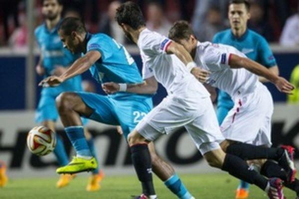 Петербургский «Зенит» завершил выступление в Лиге Европы УЕФА