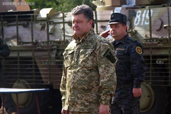 Порошенко ужесточил закон об ответственности за военные преступления