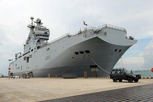 Франция намерена компенсировать России затраты по «Мистралям»