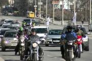 Участники автопробега «За ровные дороги» раскритиковали не только губернатора, но и ГИБДД