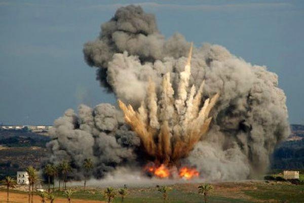 Израильская авиация нанесла удар по боевикам на границе с Сирией