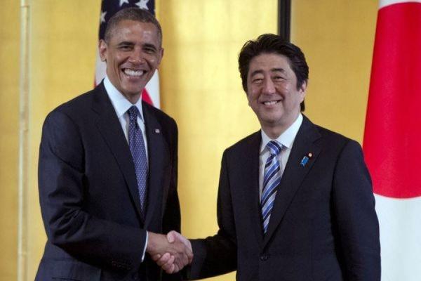 Обама заявил, что Вашингтон и Токио совместно «противостоят российской агрессии на Украине»
