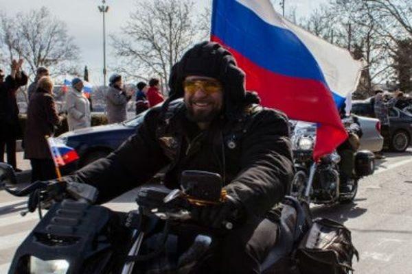 Некоторым членам мотоклуба «Ночные волки» удалось проникнуть на территорию Европы