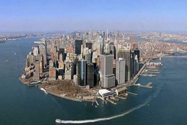 Георгиевские ленты начали раздавать в Нью-Йорке