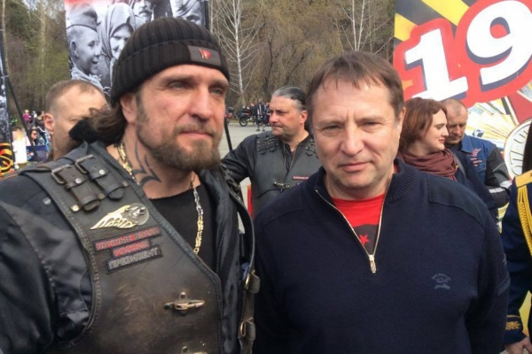 «Хирург» собрал на мотопробег в Екатеринбурге врагов и друзей Куйвашева