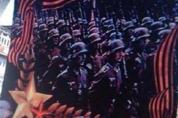 Скандальным плакатом с изображением фашистов, потрясшим Алапаевск, занялась прокуратура