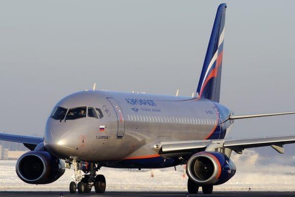 Sukhoi Superjet-100 потерял часть двигателя при взлете в Шереметьево