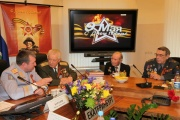 МВД организовало телемост, чтобы поздравить ветеранов с Днем Победы