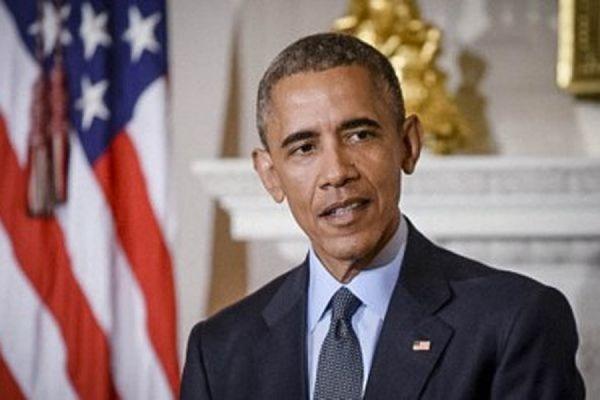 Президент США Барак Обама поздравил граждан России с Днем Победы