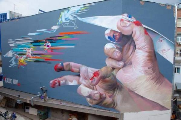 Победа, футбол, движение воды. «Стенограффия» готовит для екатеринбуржцев праздник уличного искусства