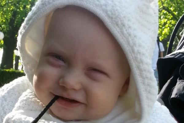 В Екатеринбурге стартует эстафета добра, которая помогает маленькому Елисею побороть рак сетчатки глаз