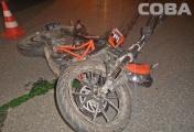 В Екатеринбурге в столкновении с «Мерседесом» погиб мотоциклист