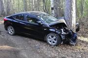 В Екатеринбурге девяностолетний водитель иномарки врезался в дерево и погиб